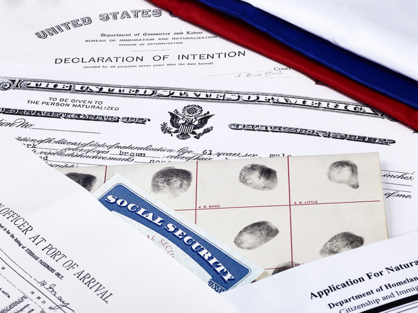US documents related to deportation and remocal cases